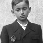 Young Jewish refugee