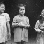 Marion Gerber with her Chinese friends