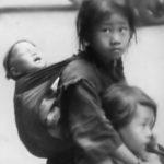 Little girls in Shanghai