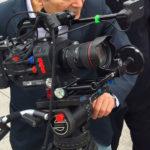 Nicola Zavaglia and Carlos Ferrand shooting on the Bund