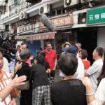 吉斯·艾斯纳在上海虹口区