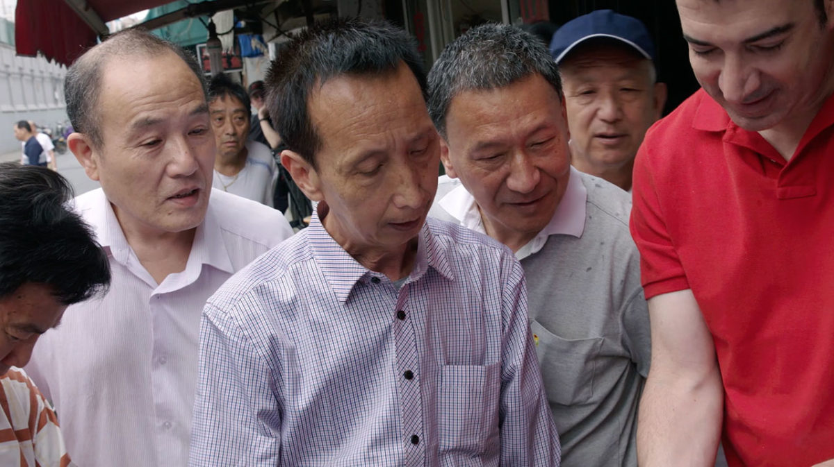 吉斯·艾斯纳与上海虹口居民分享其父亲的书