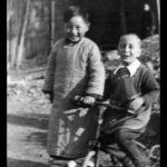 Zhang Yongpei and his Jewish friend Freddie