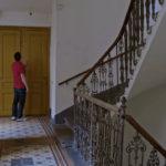 吉斯·艾斯纳在他父亲在维也纳的家