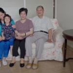 Zhang Yongpei and his family
