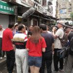 Filming in Hongkou
